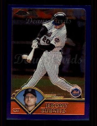 2003 Topps Chrome #163  Jeromy Burnitz
