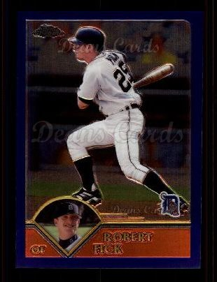 2003 Topps Chrome #195  Robert Fick