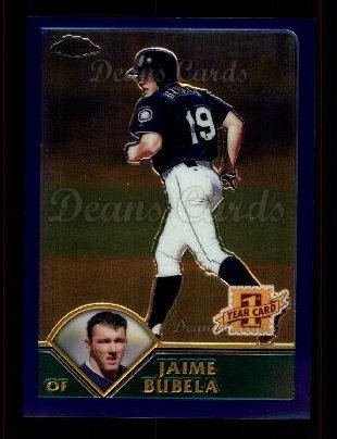 2003 Topps Chrome #211   -  Jaime Bubela First Year