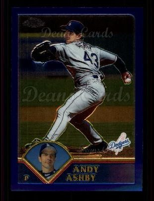 2003 Topps Chrome #53  Andy Ashby