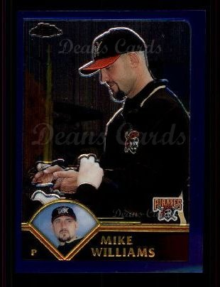 2003 Topps Chrome #54  Mike Williams