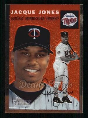2003 Topps Heritage Chrome #60  Jacque Jones