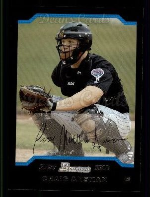 2004 Bowman #228   -  Craig Ansman First Year