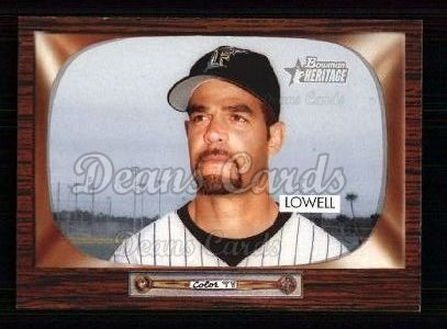 2004 Bowman Heritage #86  Mike Lowell