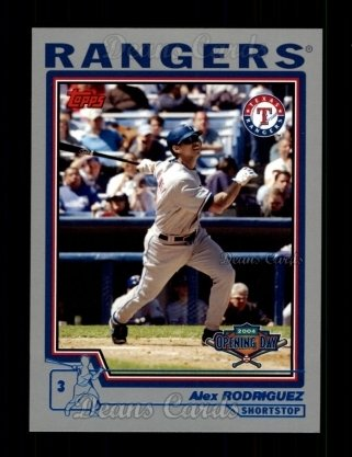 2004 Topps Opening Day #100  Alex Rodriguez