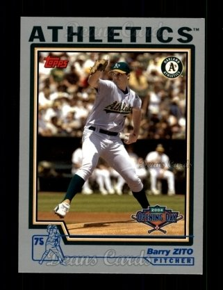 2004 Topps Opening Day #115  Barry Zito