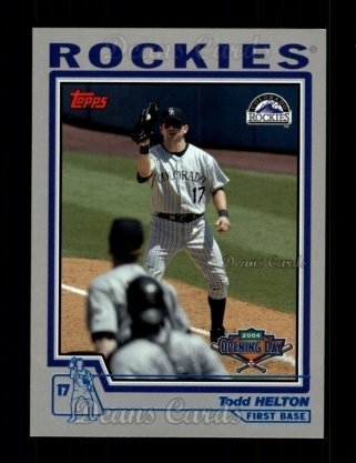 2004 Topps Opening Day #50  Todd Helton