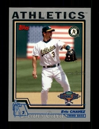 2004 Topps Opening Day #65  Eric Chavez