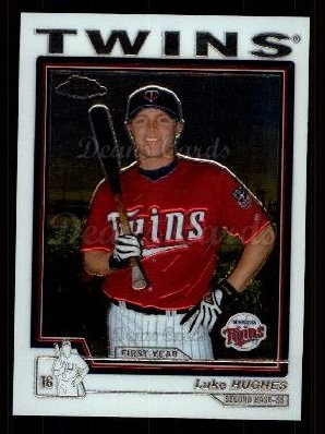 2004 Topps Chrome Traded #153 T  -  Luke Hughes First Year