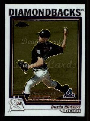 2004 Topps Chrome Traded #195 T  -  Dustin Nippert First Year