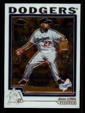 2004 Topps Chrome Traded #40 T Jose Lima