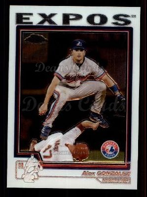 2004 Topps Chrome Traded #6 T Alex Gonzalez