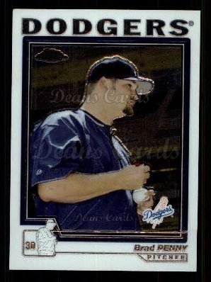 2004 Topps Chrome Traded #61 T Brad Penny