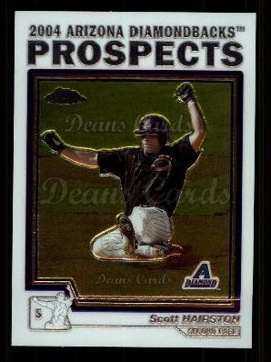 2004 Topps Chrome Traded #92 T  -  Scott Hairston Prospect