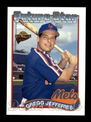 2004 Topps All-Time Fan Favorites #87  Gregg Jefferies