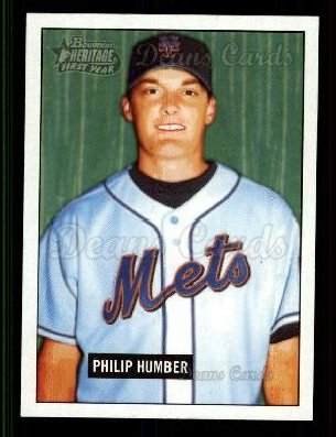 2005 Bowman Heritage #248   -  Philip Humber First Year