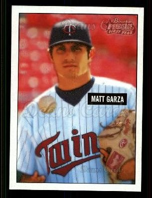 2005 Bowman Heritage #338 DP  -  Matt Garza First Year Draft Pick