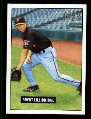 2005 Bowman Heritage #342 A  -  Brent Lillibridge First Year