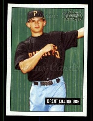 2005 Bowman Heritage #342 DP  -  Brent Lillibridge First Year Draft Pick