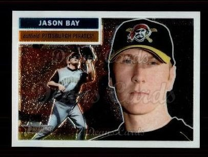 2005 Topps Heritage Chrome #48  Jason Bay