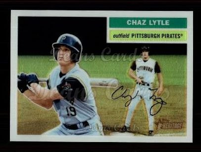2005 Topps Heritage Chrome #84  Chaz Lytle