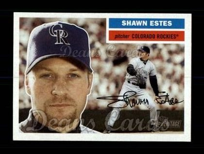 2005 Topps Heritage #410  Shawn Estes