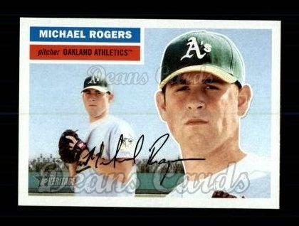 2005 Topps Heritage #463  Michael Rogers