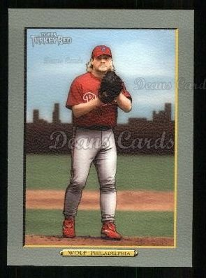 2005 Topps Turkey Red #169  Randy Wolf