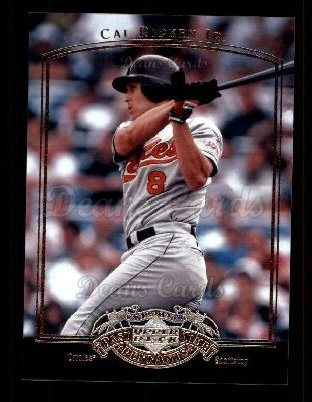 2005 Upper Deck Past Time Pennants #13  Cal Ripken Jr.