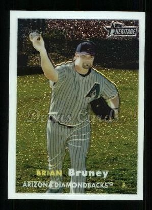 2006 Topps Heritage Chrome #86  Brian Bruney