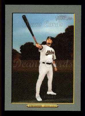 2006 Topps Turkey Red #449  Nick Swisher
