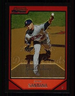 2007 Bowman Chrome #35  Johan Santana