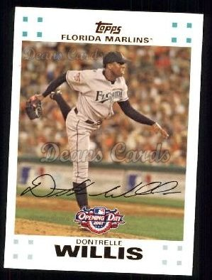 2007 Topps Opening Day #10  Dontrelle Willis