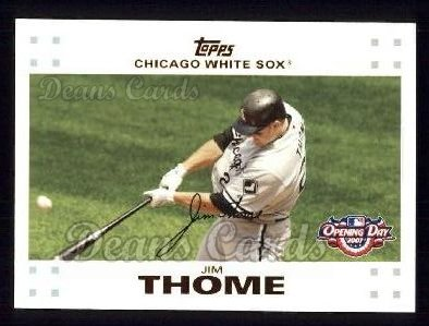 2007 Topps Opening Day #142  Jim Thome