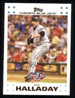 2007 Topps Opening Day #72  Roy Halladay