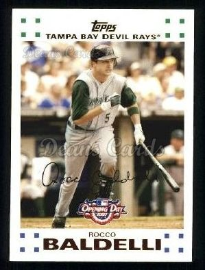 2007 Topps Opening Day #76  Rocco Baldelli