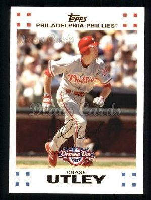 2007 Topps Opening Day #99  Chase Utley