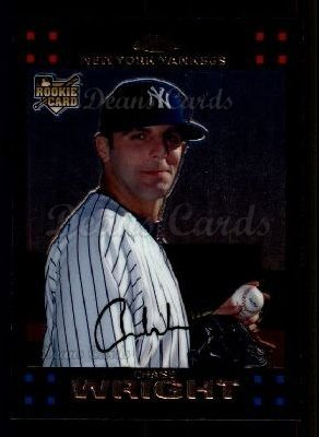 2007 Topps Chrome #277  Chase Wright