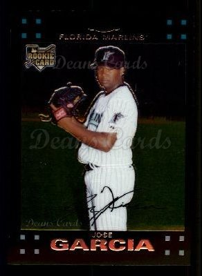 2007 Topps Chrome #304  Jose Garcia