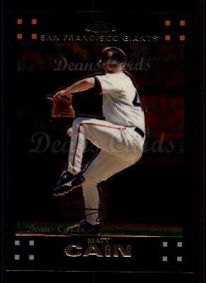 2007 Topps Chrome #84  Matt Cain