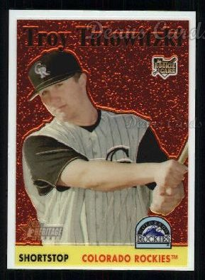 2007 Topps Heritage Chrome #30  Troy Tulowitzki