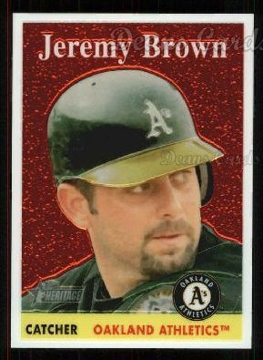 2007 Topps Heritage Chrome #53  Jeremy Brown