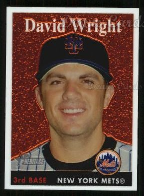 2007 Topps Heritage Chrome #66  David Wright