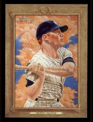 2007 Topps Turkey Red #107  Mickey Mantle