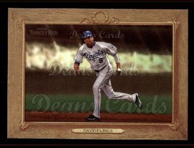 2007 Topps Turkey Red #86  David DeJesus
