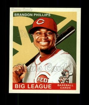 2007 Upper Deck Goudey Green Backs #139  Brandon Phillips