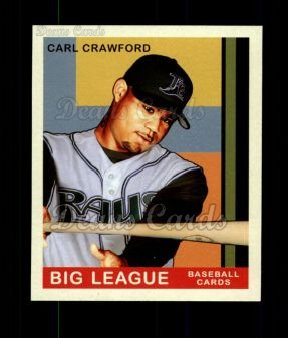 2007 Upper Deck Goudey Green Backs #165  Carl Crawford