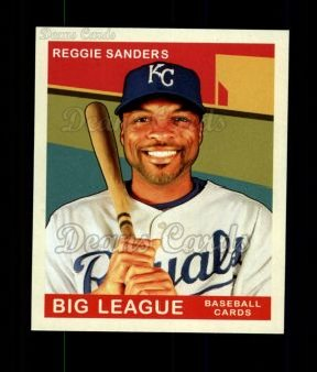 2007 Upper Deck Goudey Green Backs #179  Reggie Sanders