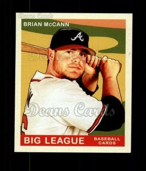 2007 Upper Deck Goudey Green Backs #195  Brian McCann