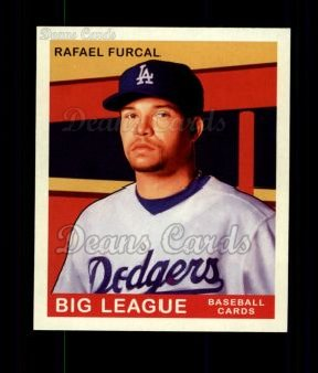 2007 Upper Deck Goudey Green Backs #85  Rafael Furcal